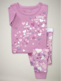 Baby Gap Girls Pajamas PJs