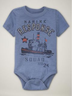 Baby Gap Boys Shirt Top Onesie Bodysuit