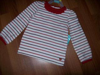 Girls Healthtex Long Sleeve Ruffle Shirts 12 18 24 Months 3T 4T 5T NWT