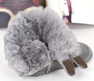 New Winter Toddler Infant Baby Girl Boy Boots Sheepskin Fur New 0 24 Month