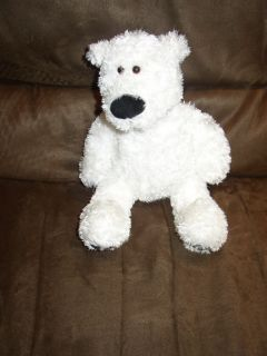 White Gund Teddy Bear Francis Baby Lovey Plush Collect