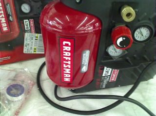 Craftsman Airboss™ 1 2 Gallon Oil Less Air Compressor and Hose Kit