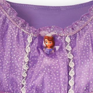 New  Princess Sofia The First Dress Gown Costume Sz 2 3 4 5 6