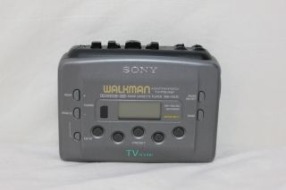 Sony Am FM Cassette Player Walkman Radio Auto Reverse Wm FX435