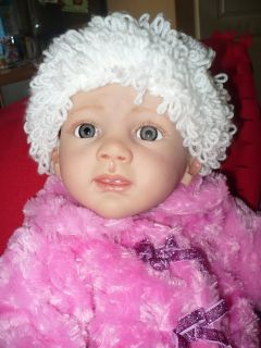 Reborn Baby Girl Fridolin Kit from Karola Wegerich Le 133 500
