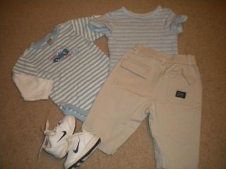 Baby Boy Fall Winter Clothes Size 6 9 Months Outfits Sleepwear Huge Lot 50pcs