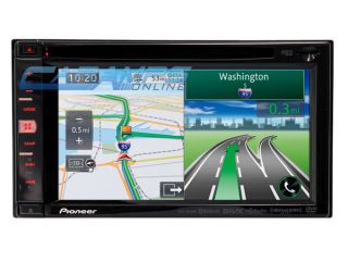 New Pioneer AVIC 950BH in Dash GPS Navigation Car Stereo w Bluetooth HD Radio
