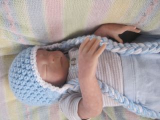 Beautiful Reborn Baby Boy Bryan Was Faith Sculpt by Heather Boneham