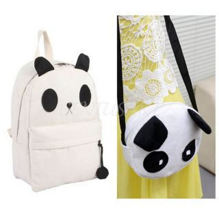 2X Fashion Korean Style Cute Cartoon Panda Shoulder Bag Backpack Handbags Hot