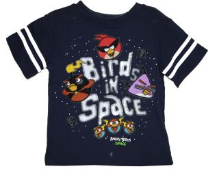 "Licensed Rovio Angry Birds Space T Shirt Toddler Size 3T ""Birds in Space"""