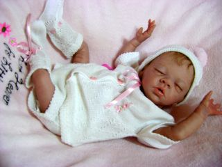 Beautiful Preemie Reborn Baby Girl Art Doll Daisy by Bonnie Brown Sold Out