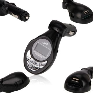 Car  Player FM Transmitter USB Pen Drive SD MMC Slot Card