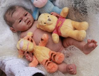 Beautiful Reborn Newborn Baby Boy Doll Lovelyn Sam's Reborn Nursery