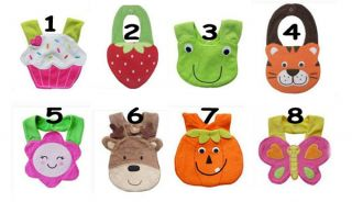 3D Animal Soft Saliva Towel Cute Cartoon Baby Infant Toddler Cotton Bibs