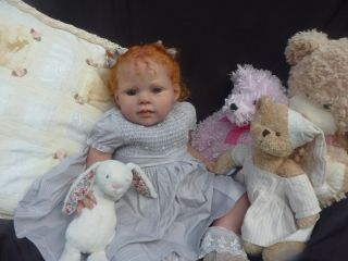 Jackies Babies Reborn Baby Girl Toddler Louisa J de Lange