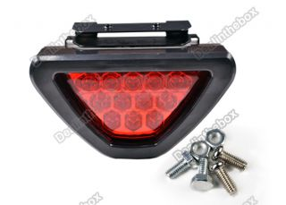 Universal F1 Style Car Fitting Blinking LED Third Brake Lamp Bulb Light Flash