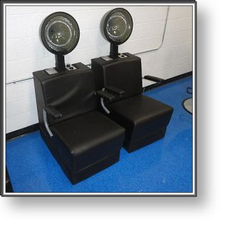 Beauty Salon Equipment 10 Vanities 20 Chairs Manicure and Dryer Stations