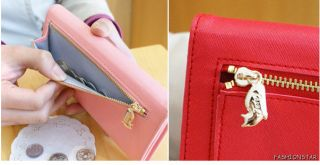 Women Lady's Wallet Coin Card Mobile Holder Purse Lovely Mental Cat Bag