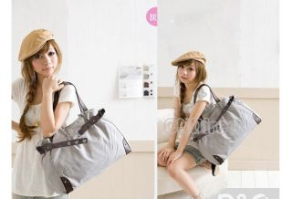 2012 New Korean Style Fashion Cute Girl Casual Canvas Bag Shopper Boat Tote Bag