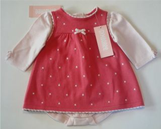 Gymboree Sweet Paris Baby Outfit Lot Sweater Dress Hat Onesie Size 0 3