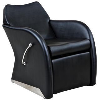 New Black Lounge Salon Shampoo Chair Footrest Su 59B