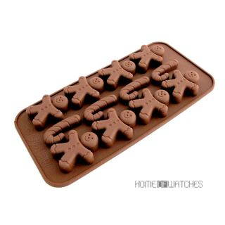 New Lovely Cartoon Kids Handmade Chocolate Cake Muffin Cookies Candy Mold Mould
