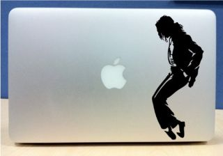Michael Jackson Moonwalk Vinyl MacBook Laptop Decal Sticker