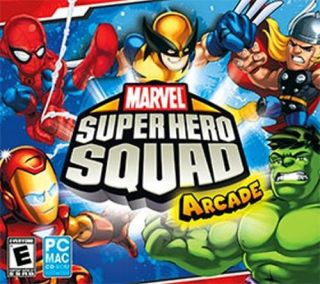 Marvel Super Hero Squad Arcade for Mac OSX OS x SEALED