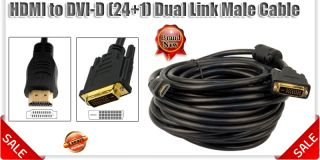 Mini HDMI DVI D VGA to DisplayPort 3 RCA AV Audio Video Cable 1M 1 5M 2M 5M 10M