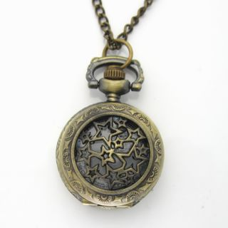 New Quartz Cute Small Mens Womens Boy Child Mini Fashion Pocket Watch PW009