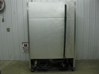 True T 49F Two 2 Door Stainless Steel Commercial Reach in Freezer