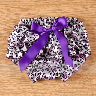 Sweet Cute Baby Girls Toddlers Ruffle Panties Bloomers Nappy Cover Pantskirt s L