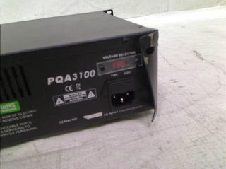 Pyle Pro PQA3100 19'' Rack Mount 3100 Watts Professional Power Amplifier