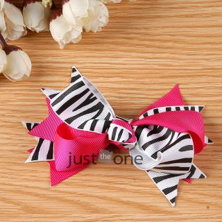 Cute Baby Girls Kids Princess Style Headwear Decor Bow Flower Hair Clip Hairpin