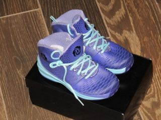 New Kid's Adidas D Rose 3 5 Basketball Shoes Purple Size 11K Q32855
