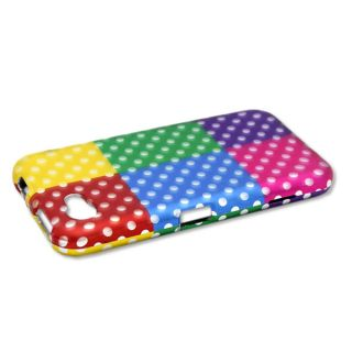 Colorful Polka Dots Case for HTC First Cell Phone Hard Skin Cover