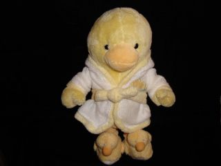 Just One Year Carters Yellow Baby Cuddles Duck Plush 10