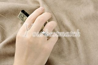 Brandnew Fashion Alloy Intercross Silver Tone Ring Adjustable 1 8cm Wholesale