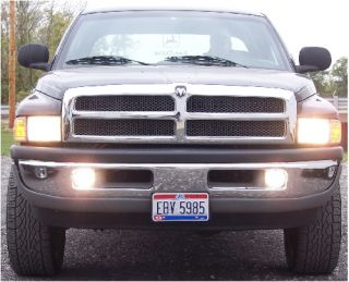 94 98 99 00 01 Dodge RAM Truck High Beam Fog Light Kit