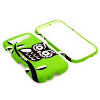 Green Owl Hard Phone Cover Case for T Mobile Samsung Galaxy s Blaze 4G T769