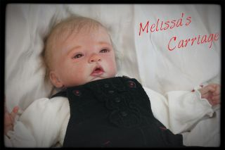 Reborn Baby Girl Elodie by Evelina Wosnjuk Very Real Looking Super Cute