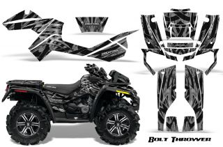 Can Am Outlander XMR 500 650 800R Graphics Kit Decals Stickers BTS