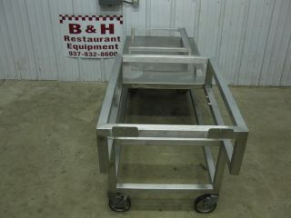"71"" Stainless Heavy Duty Equipment Griddle Stand Table"