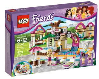 Lego® Friends Girls Heartlake City Swimming Pool Minifigures 41008