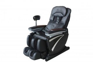 Full Body Zero Gravity Shiatsu Brown Massage Chair Recliner 3D Hand Massage EC01