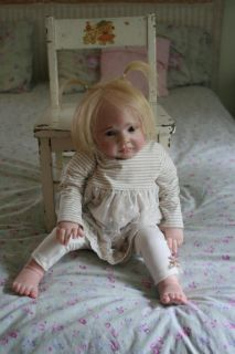Lifelike Reborn Baby Girl Toddler Extreme Realism Beautiful Doll