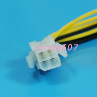 ATX 4 Pin Male to 8 Pin Female EPS Power Cable Adapter