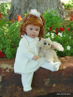 Retired Eddy 22 inch Toddler Doll OOAK Soft and Cuddly with Red Hair