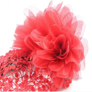 Flower Headband Baby Girl Elastic Hairband Fashion New Hair Accessories 3 Colors