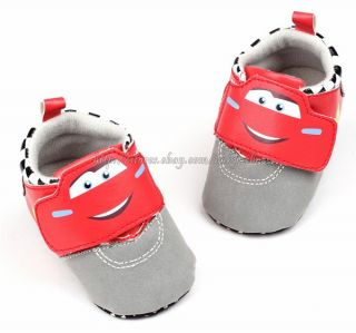 Toddler Baby Boy Cars Walking Shoes Sneakers Size 0 6 6 12 12 18 Months